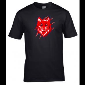 T-shirt coton unisexe noir Valenton Basket