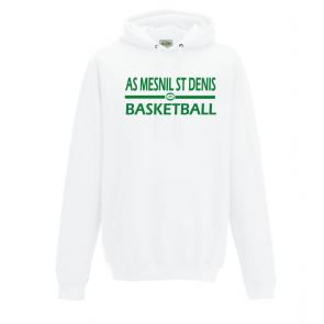 Sweat Blanc ASMD Basketball