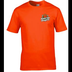 T-shirt coton unisexe orange Steenwerck
