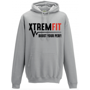 Sweat capuche Russell gris XtremFit