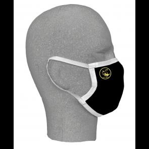 Masques textile noir double couche J.J Rousseau