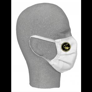 Masques textile blanc double couche J.J Rousseau