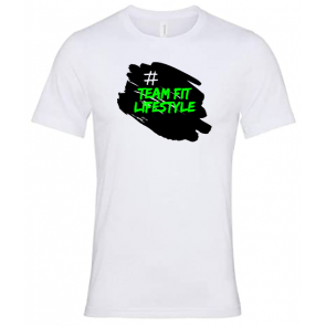 T-shirt Canvas Blanc Team Fit Lifestyle