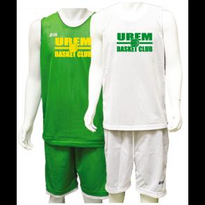 Ensemble Reversible vert / blanc UREM