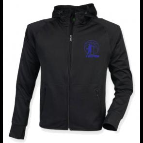 Veste Noir Frepillon Logo Bleu