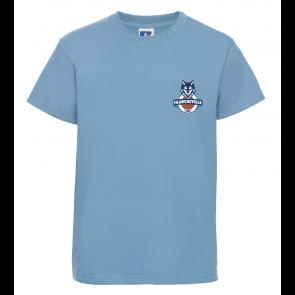 T-Shirt uni manches courtes enfant Francheville
