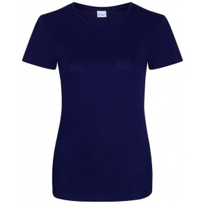 T-shirt manches courtes Col rond Polyester AWDis Femme